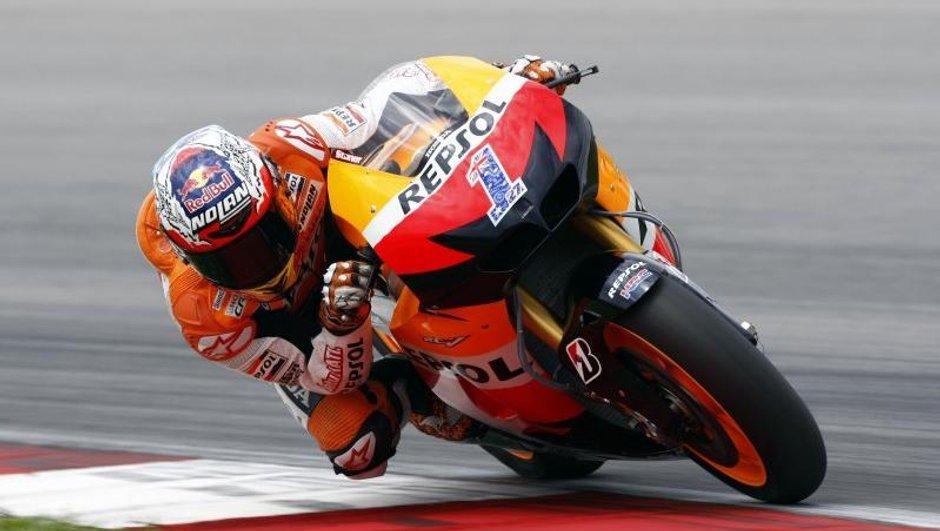 MotoGP 2012 : Stoner roi des tests à Sepang