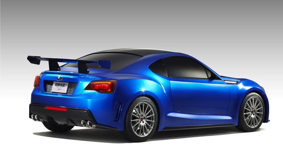 Salon de Los Angeles 2011 : Subaru BRZ STI Concept