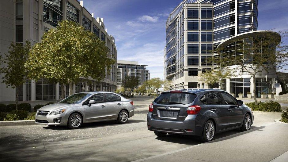 Nouvelle Subaru Impreza 2011 : timides évolutions