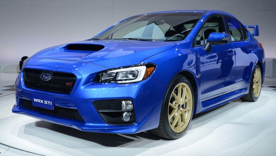 Salon de Detroit 2014 : nouvelle Subaru WRX STi, pas de folies