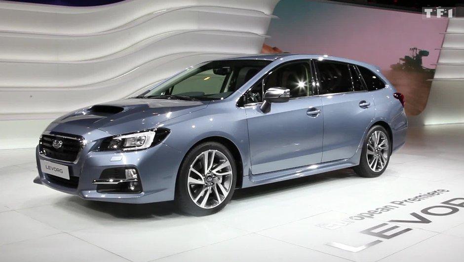 Salon de Genève 2015: Nouvelle Subaru Levorg, pour prendre de la hauteur