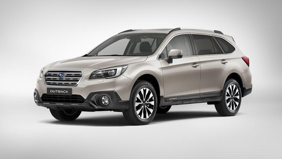 Subaru lancera ses Outback et Levorg pour le Salon de Genève 2015