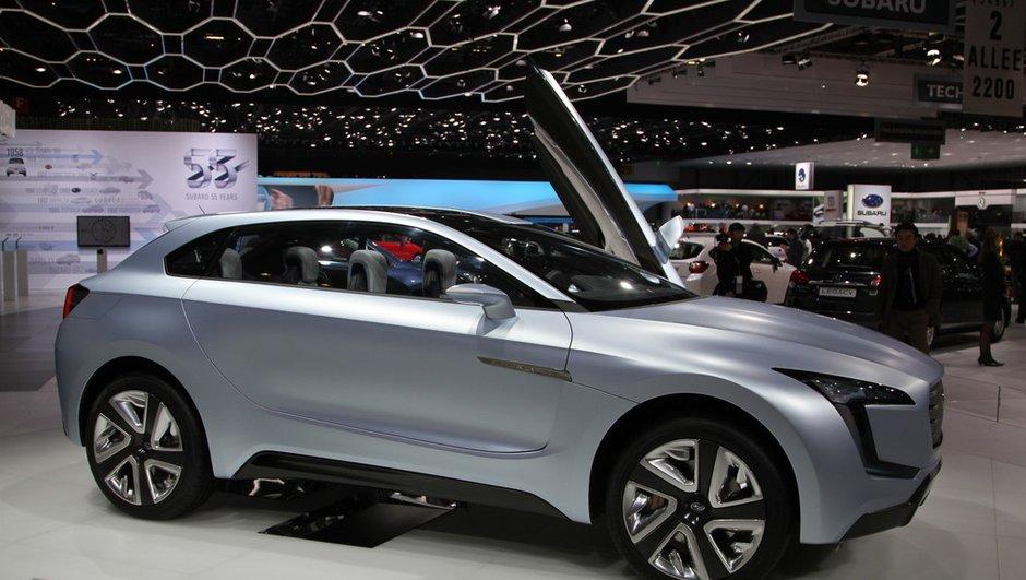 Salon de Genève 2013 : Subaru Viziv, le futur crossover japonais ?