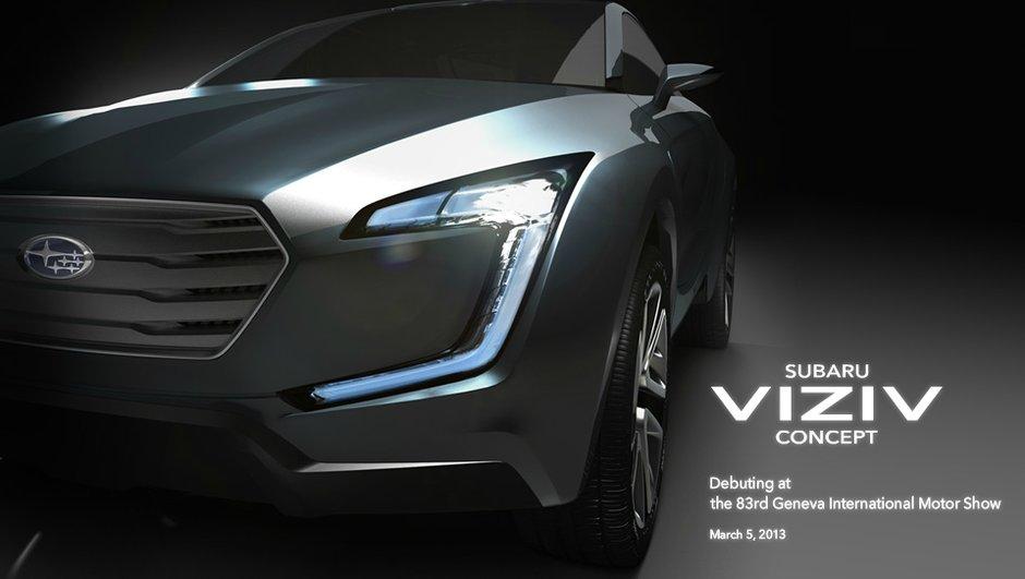 Salon de Genève 2013 : Subaru Viziv Concept, nouveau crossover ?