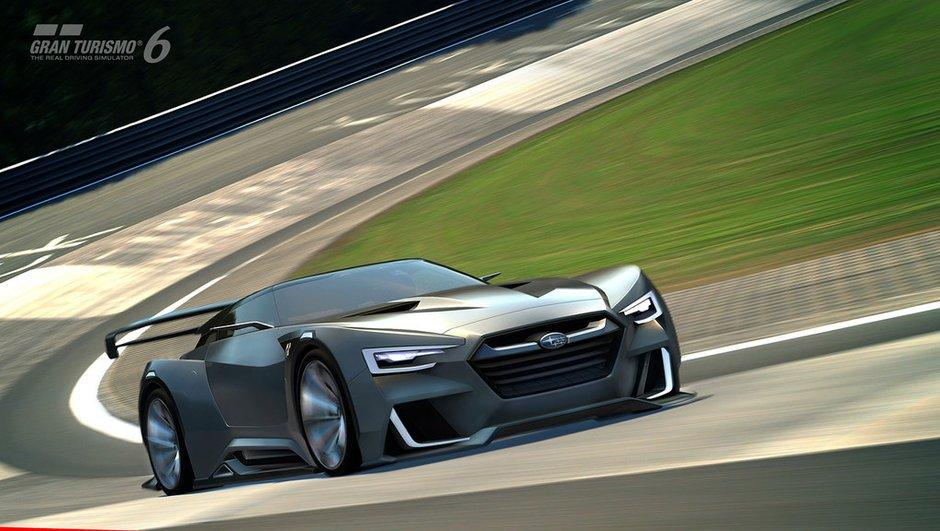 Subaru Viziv GT Concept : de l'agressivité pour Gran Turismo 6