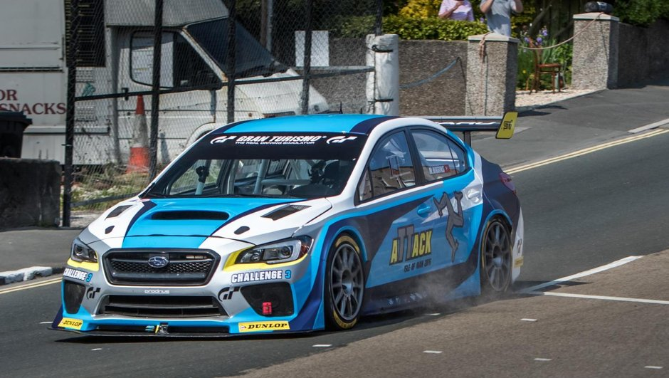 Tourist Trophy 2016 : Mark Higgins bat son record en Subaru WRX STI à l'île de Man