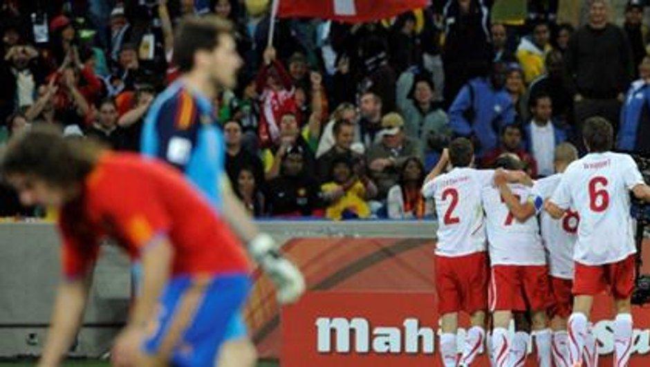 Coupe du monde : la Suisse surprend l'Espagne !