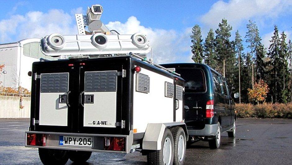 En Finlande, les radars vérifient même la ceinture de sécurité !