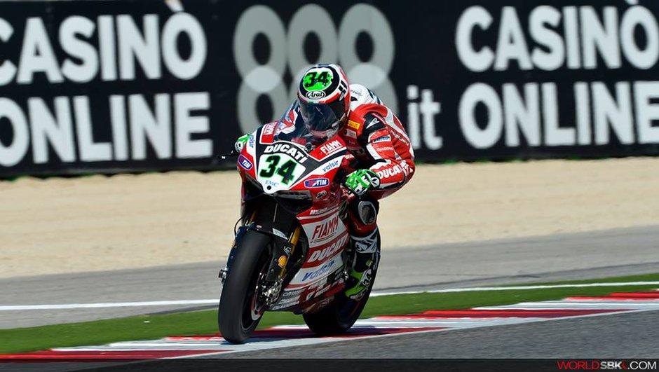 Superbike - Misano 2014 : Giugliano consolide son chrono aux essais libres 3