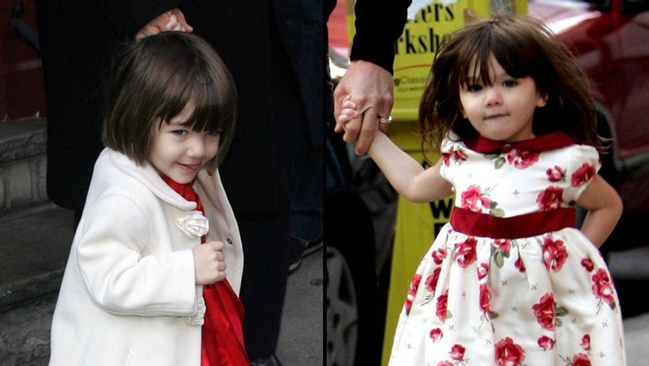 Katie Holmes : un sac à main à 850 dollars pour sa fille Suri Cruise