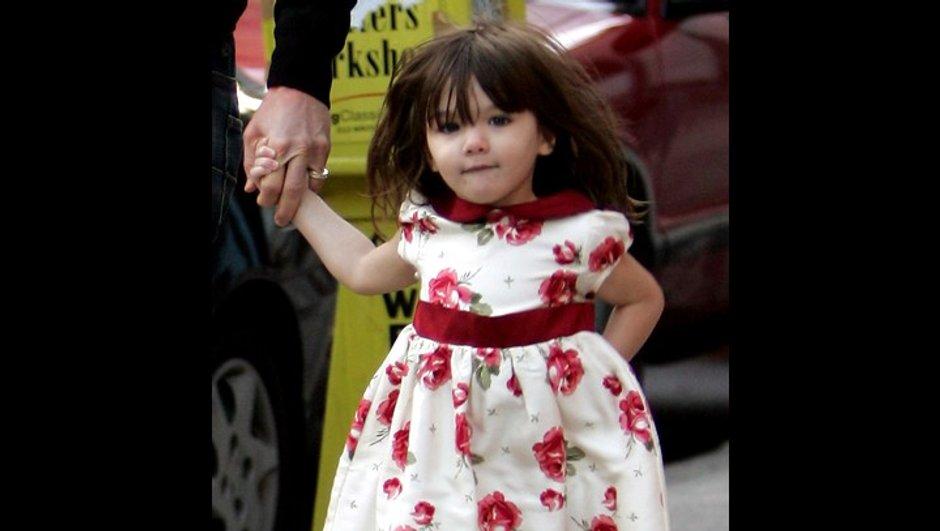 Katie Holmes : la garde-robe de sa fille vaut 2 millions d'euros !