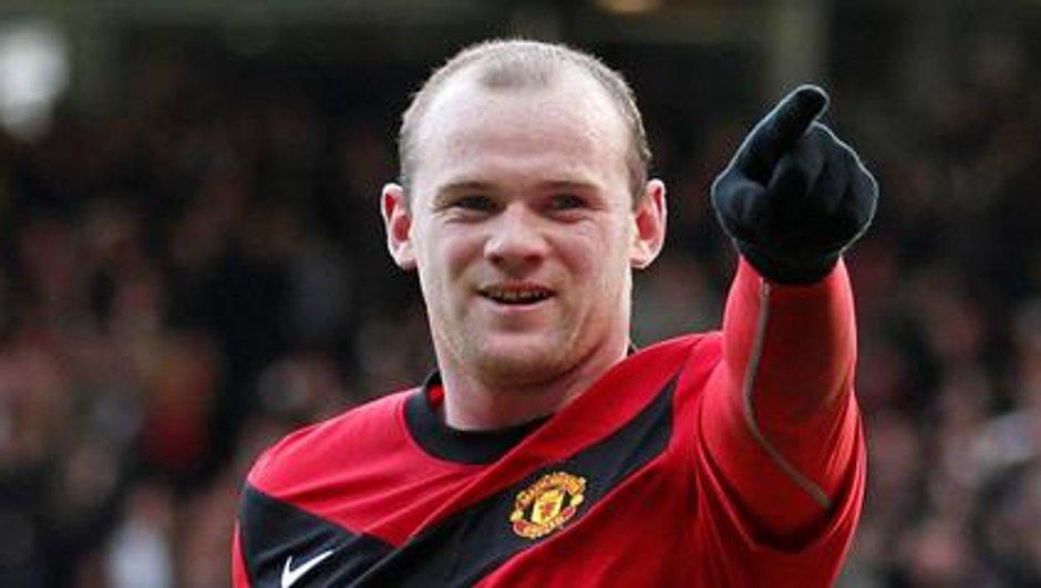Ligue des Champions : Rooney, la menace rouge