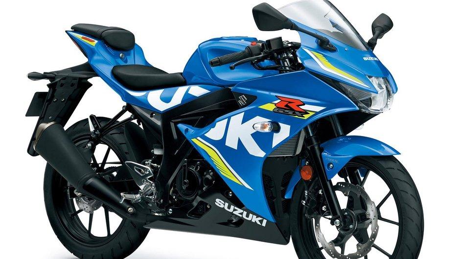 Intermot 2016 : Suzuki dévoile la GSX-R 125