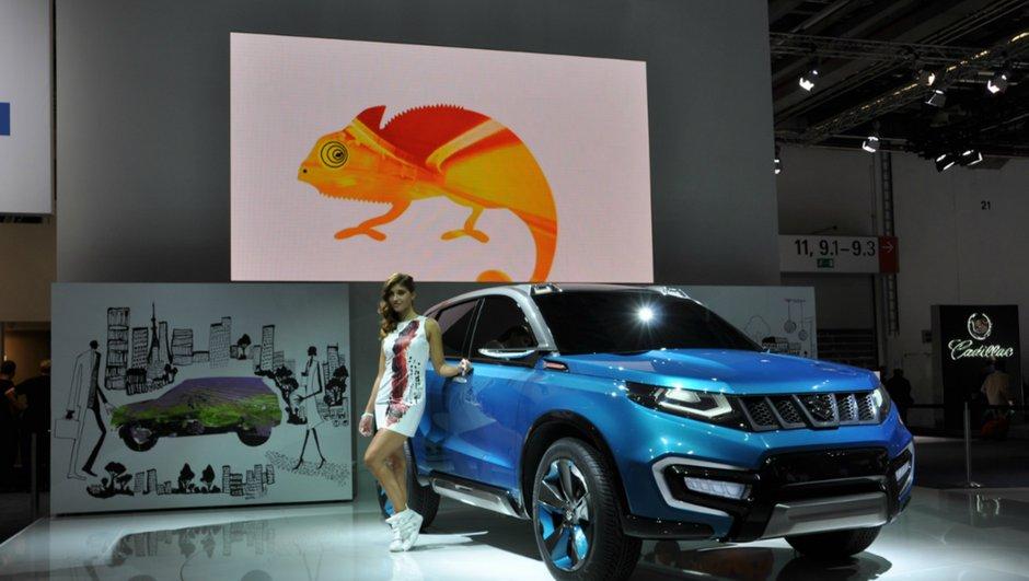 Salon de Francfort 2013 : Suzuki iv4 Concept, futur Gran Vitara