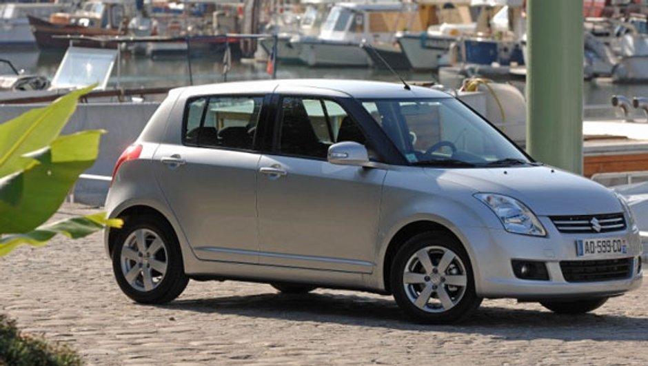 Une Suzuki Swift en série spéciale 100ème anniversaire