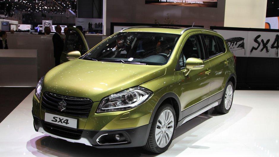 Salon de Genève 2013 - Live : Suzuki SX4, le nippon revient sur la scène des crossovers