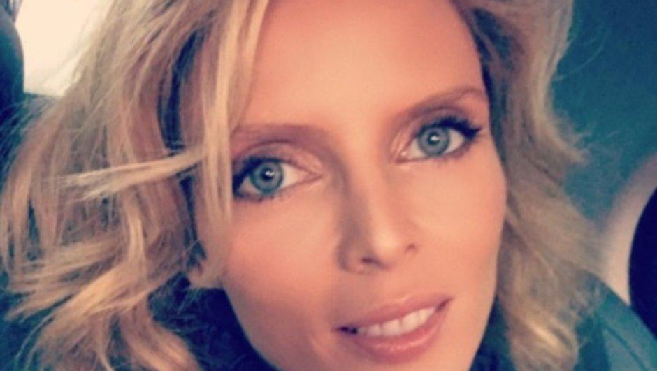 Malgré un accouchement imminent, Sylvie Tellier enchaîne les séances de sport