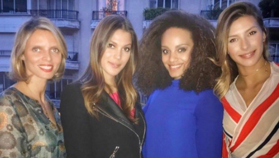 Iris Mittenaere, Camille Cerf, Alicia Aylies, Sylvie Tellier… retrouvailles entre Miss