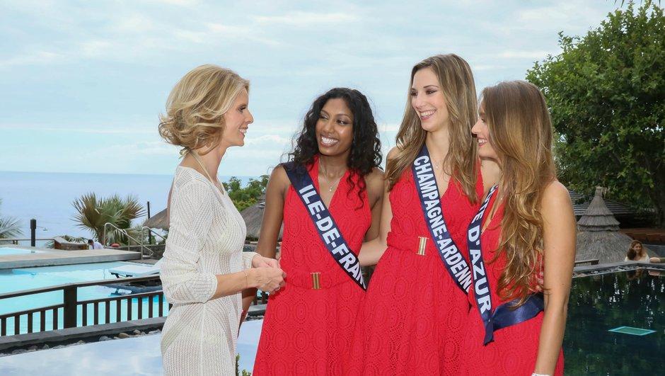 Les Miss profitent de leur voyage à La Réunion