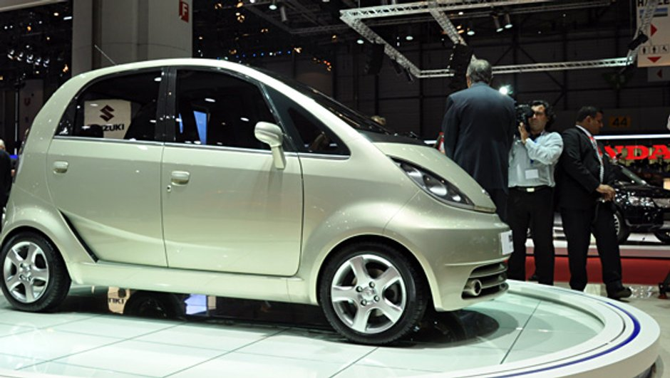 L'Europe aura sa Tata Nano pour 2011