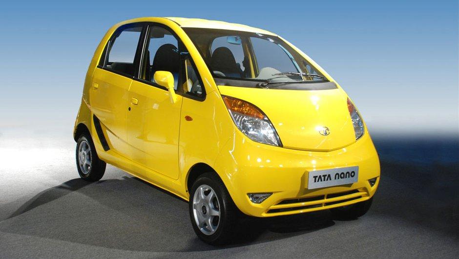 Tata Nano : voiture neuve pas chère à vendre