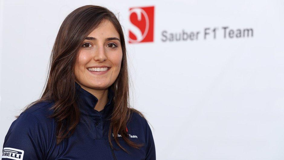 F1 : Sauber accueille Tatiana Calderon