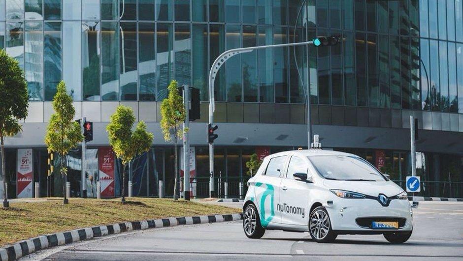 Les premiers taxis autonomes en circulation à Singapour