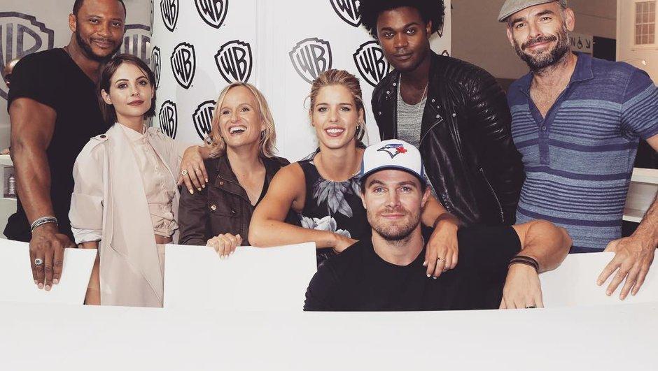 Toute la team Arrow était au Comic-Con !