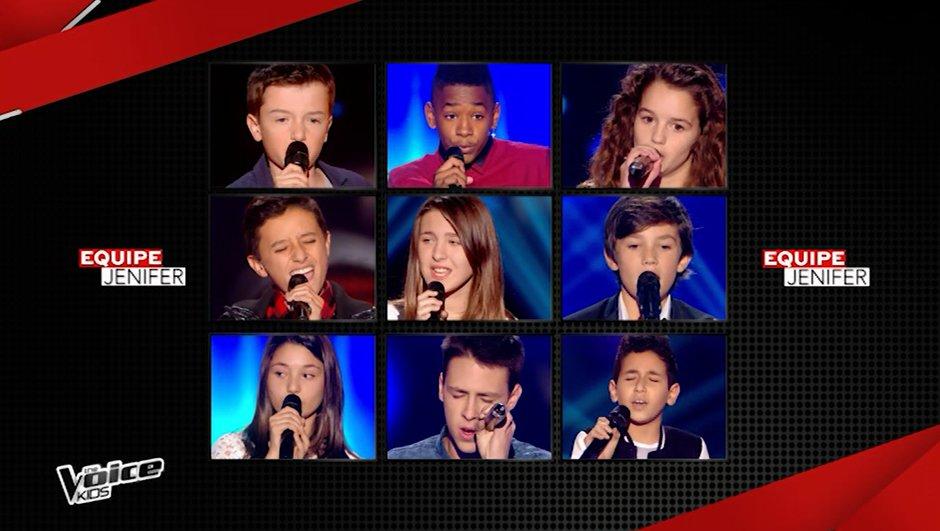 Kids. Lisandro, Elisa, Jacob, Ferhat... Quels sont les talents de l'équipe de Jenifer !