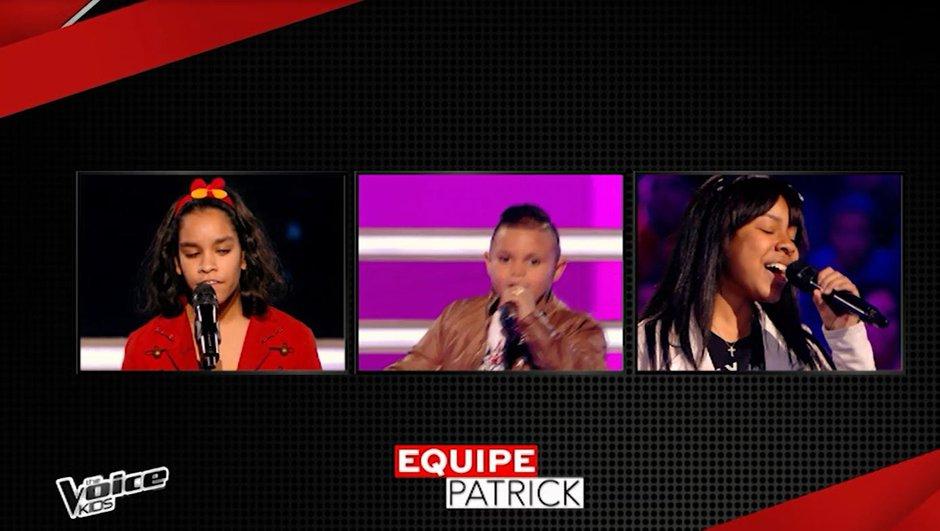 Kids : Trois talents écléctiques pour Patrick Fiori