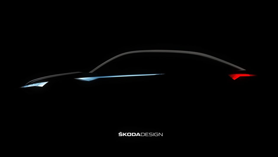 Salon de Shanghai 2017 : Teaser de la Skoda Vision E, le coupé Kodiaq !