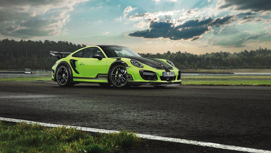 Tuning : TechArt GTstreet R, la Porsche 911 Turbo sans complexe