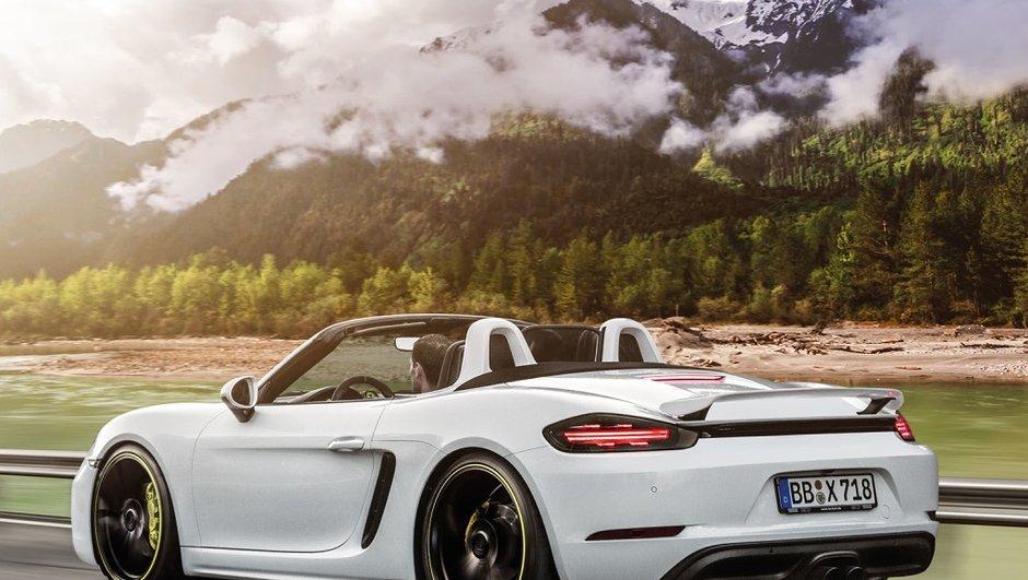 Le préparateur Porsche TechArt va débarquer avec du lourd à Genève !