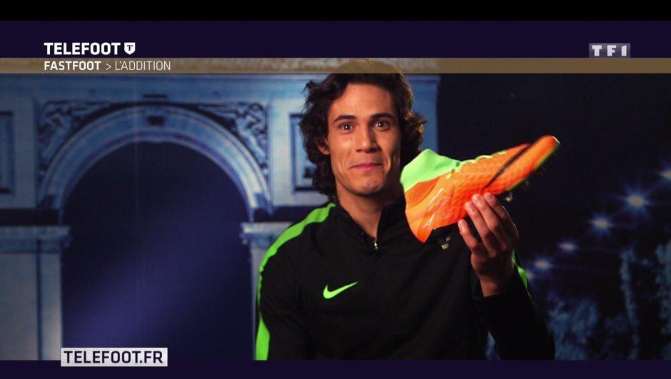 [Téléfoot 29/01/2017] Addition du Fast Foot : Gagnez les chaussures d'Edinson Cavani