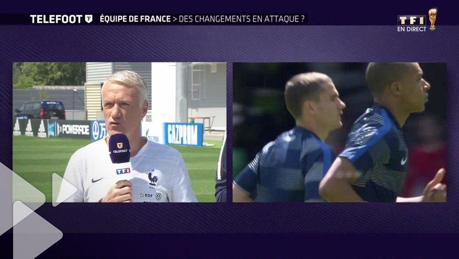"""[Exclu Téléfoot 17/06] - Deschamps : """"Griezmann est notre leader d'attaque et il le restera"""""""