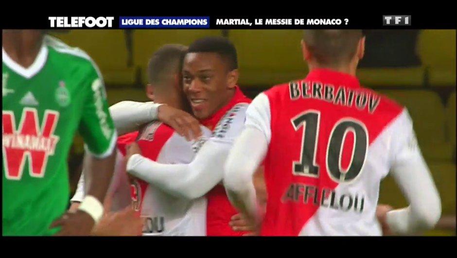 """AS Monaco - """"Martial a les qualités pour devenir un grand joueur"""""""