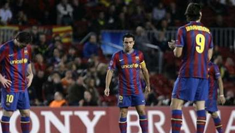 Le Barça au tapis