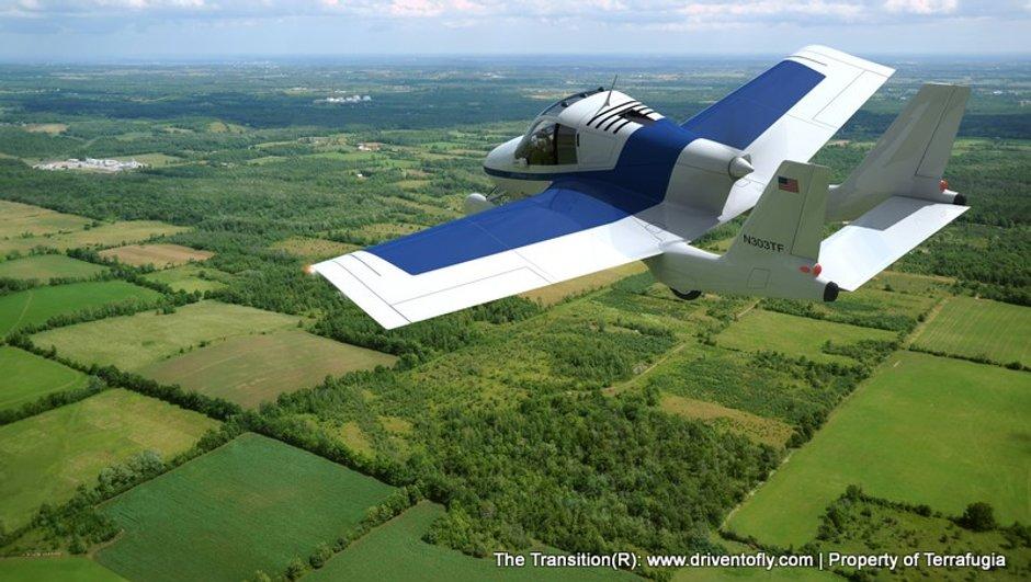Salon de New York 2012 : Terrafugia Transition, la voiture volante