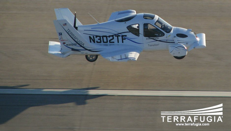 Terrafugia Transition : la voiture volante homologuée !