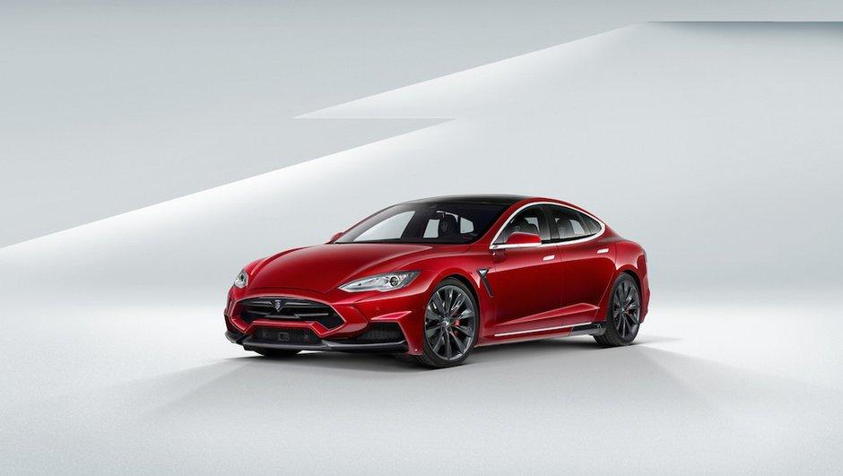 Une Tesla Model S de 900 ch par Larte Design
