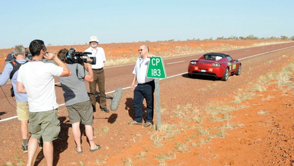 501 km sans recharger avec la Tesla Roadster