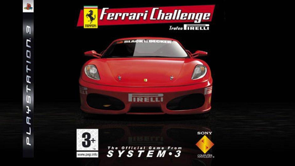Jeu vidéo : Ferrari Challenge fait rugir votre PS3 !