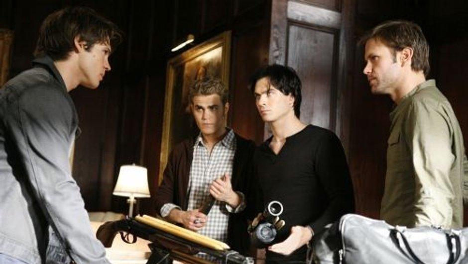 The Vampire Diaries : Stefan et Damon face au loup-garou