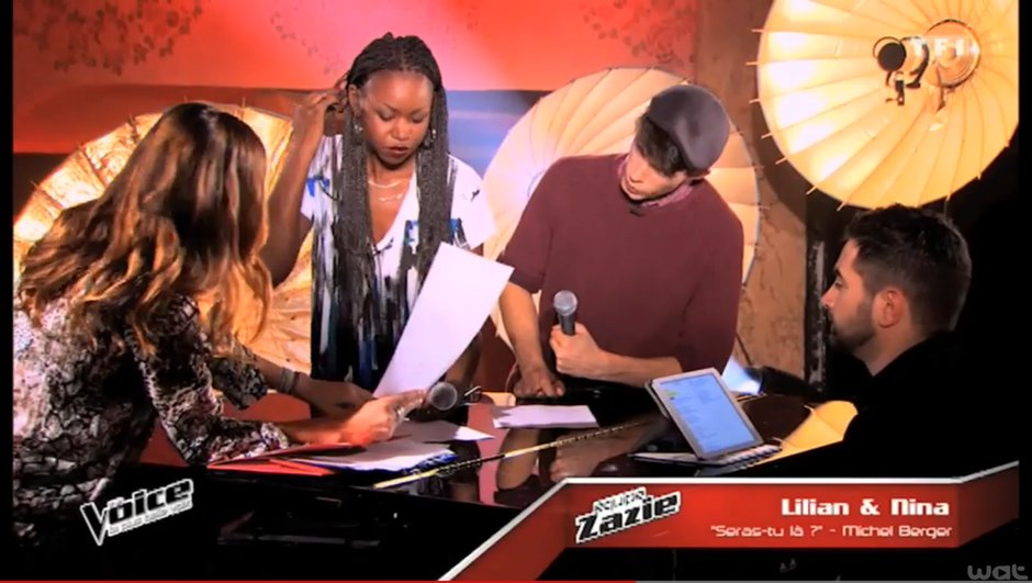 The Voice 4 - Nina vs Lilian, la battle : découvrez leur coaching en exclusivité !