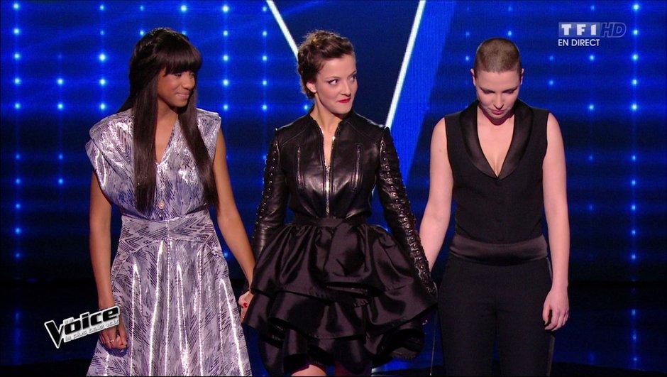 REPLAY The Voice 4 - Team Pagny : Anne Sila et Camille Lellouche en demi-finale, Awa éliminée