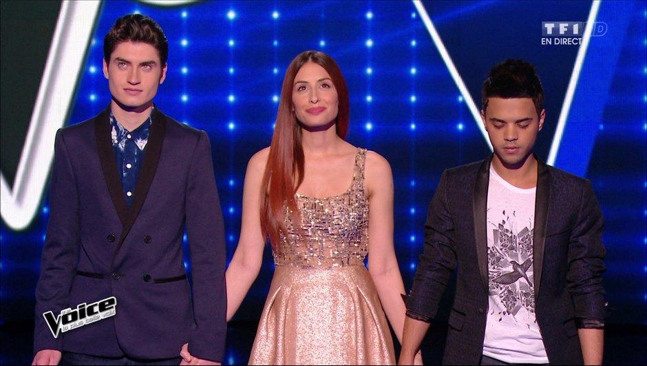 REPLAY The Voice 4 - Team Mika : Hiba et David Thibault continuent, Yann'Sine éliminé