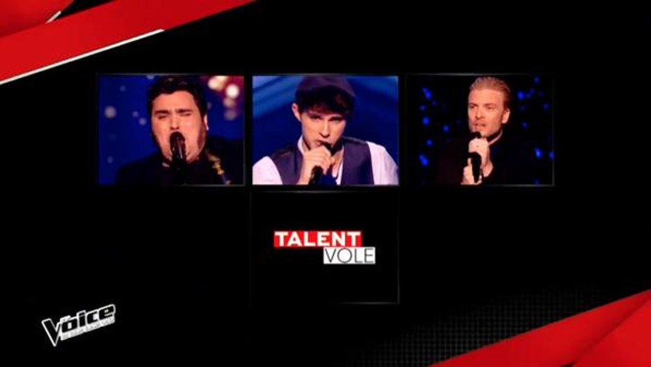 The Voice 4 - Yoann, Lilian, Guilhem Valayé : Ils forment la Team Zazie pour les Lives