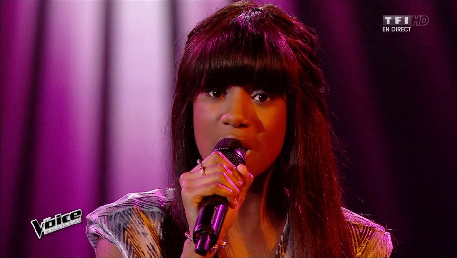 The Voice 4 - Elimination surprise pour Awa Sy, la Show girl