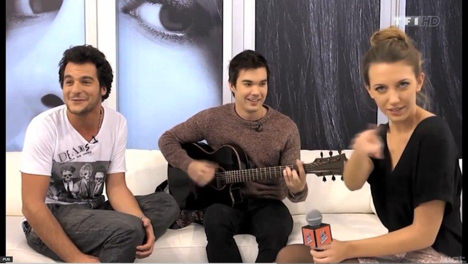 The Voice 3 : Quand Amir et François Lachance mettent le feu en coulisses !