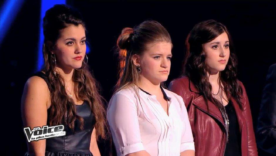 The Voice 3 - Info exclusive : Marina d'Amico face à Jacynthe et Caroline Savoie lors de l'Epreuve Ultime !